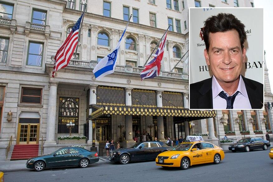 Wo Charlie Sheen einen Pornostar zum Tode erschreckte: das Hotel Plaza in New York