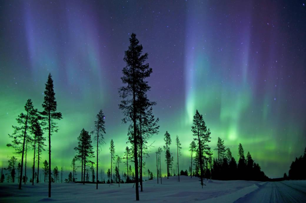 Wo kann ich Polarlichter sehen und wie entstehen sie?