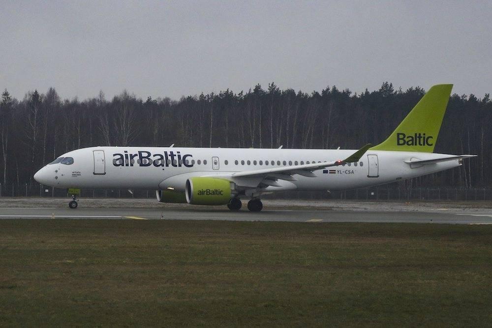 Airbaltic-Maschine