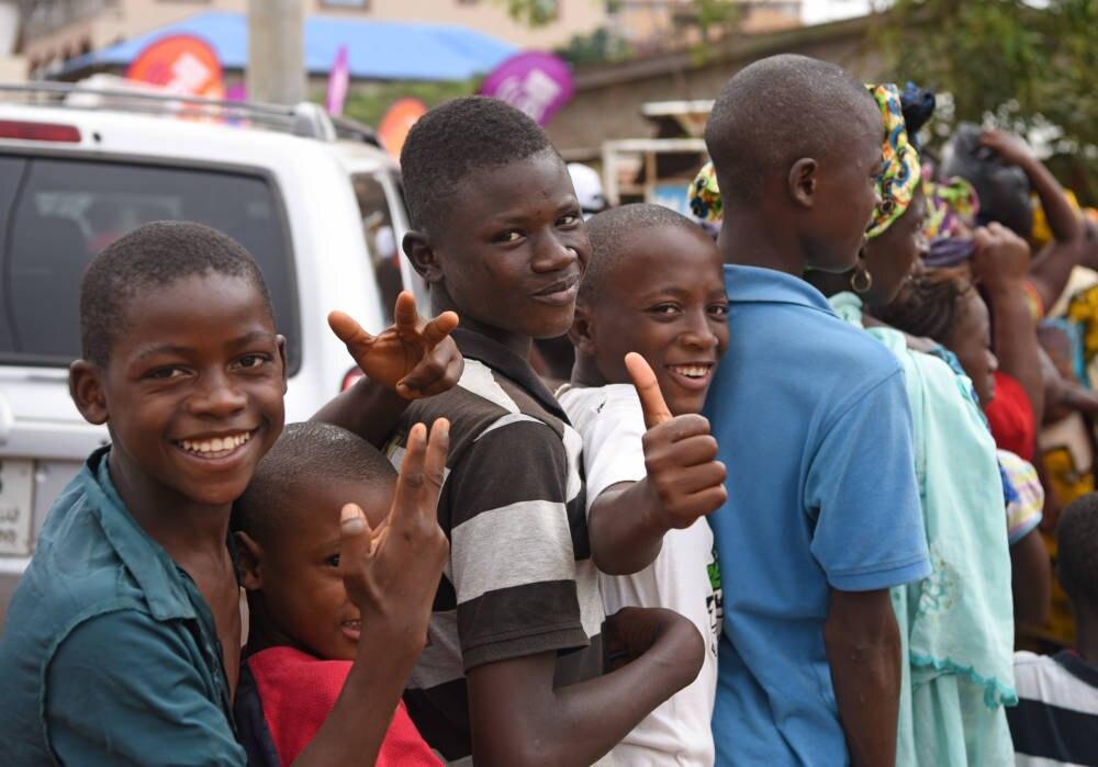 Teenager in Freetown
