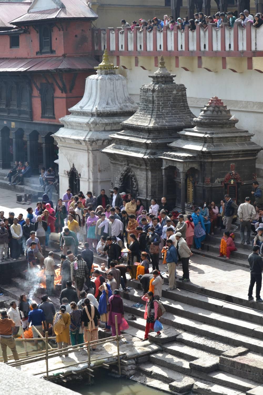 Totenverbrennung Pashupatinath Nepal