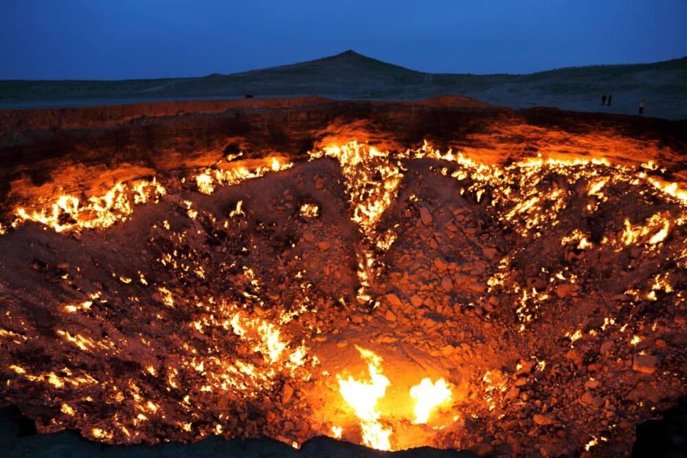 Derweze-Krater, Karakum