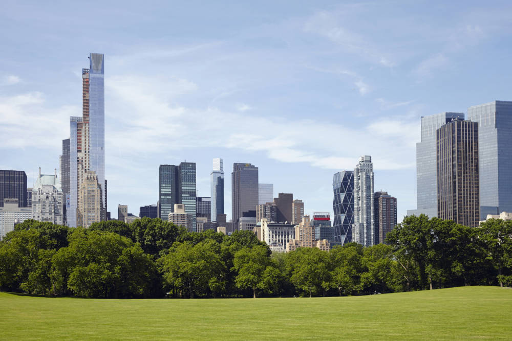 New York, Central Park, Skyline