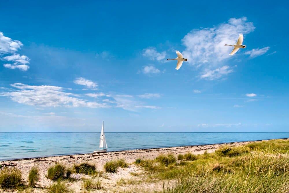 Flügger Strand, Fehmarn