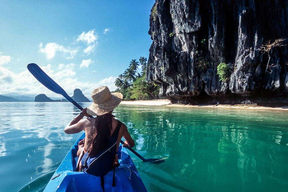 Sea Kayaking, El Nido