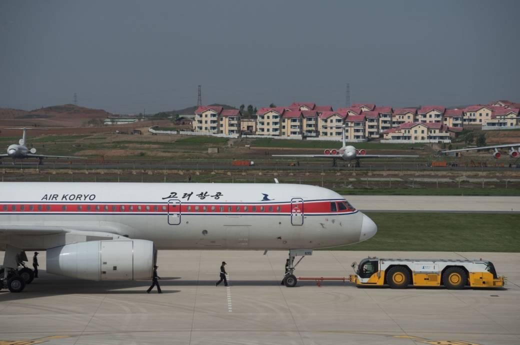 Flugzeug von Air Koryo