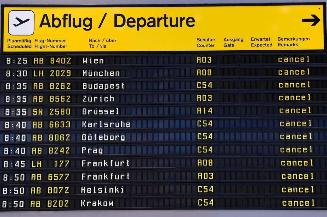 Streik Airport