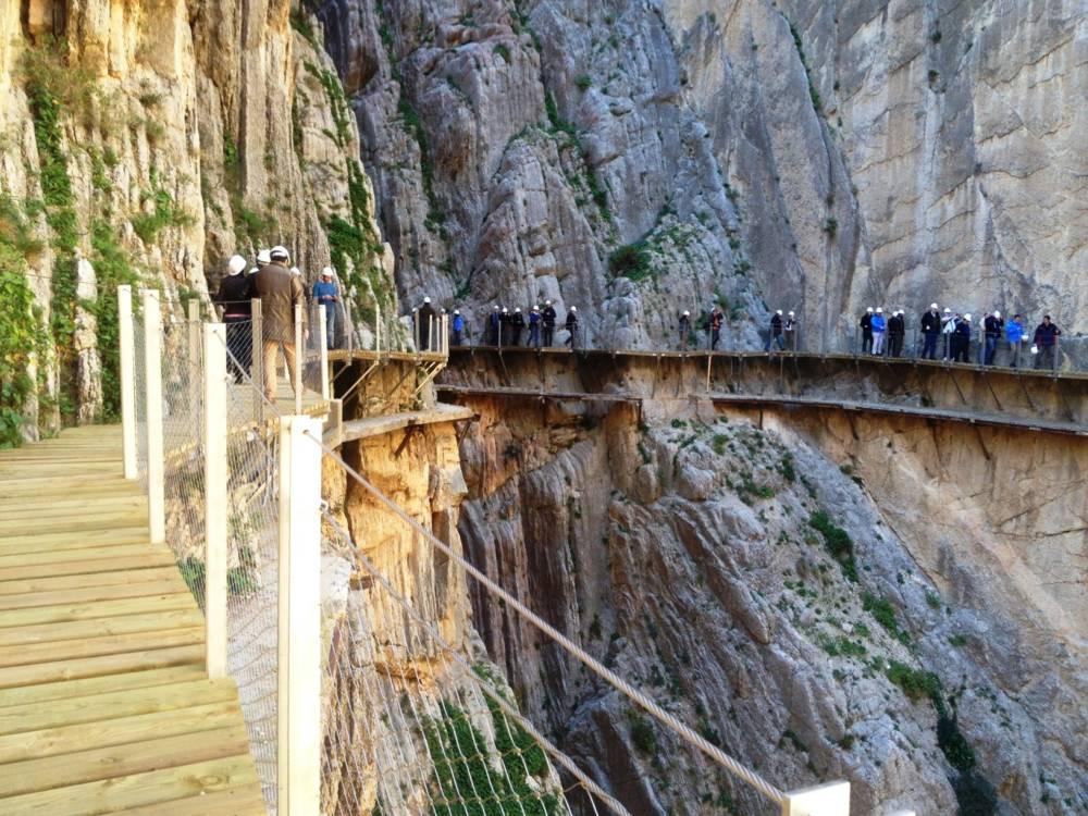 Klettersteig Caminito Del Rey : Caminito del rey: europas einst gefährlichster wanderweg travelbook