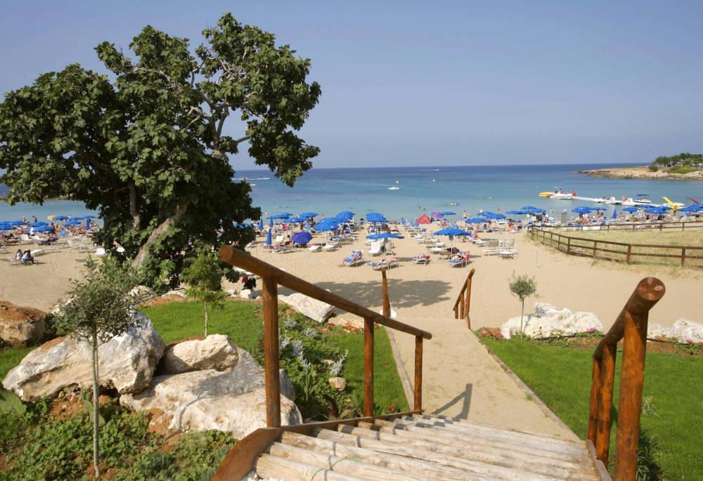 Strand Fig Tree Bay liegt in Protaras auf Zypern