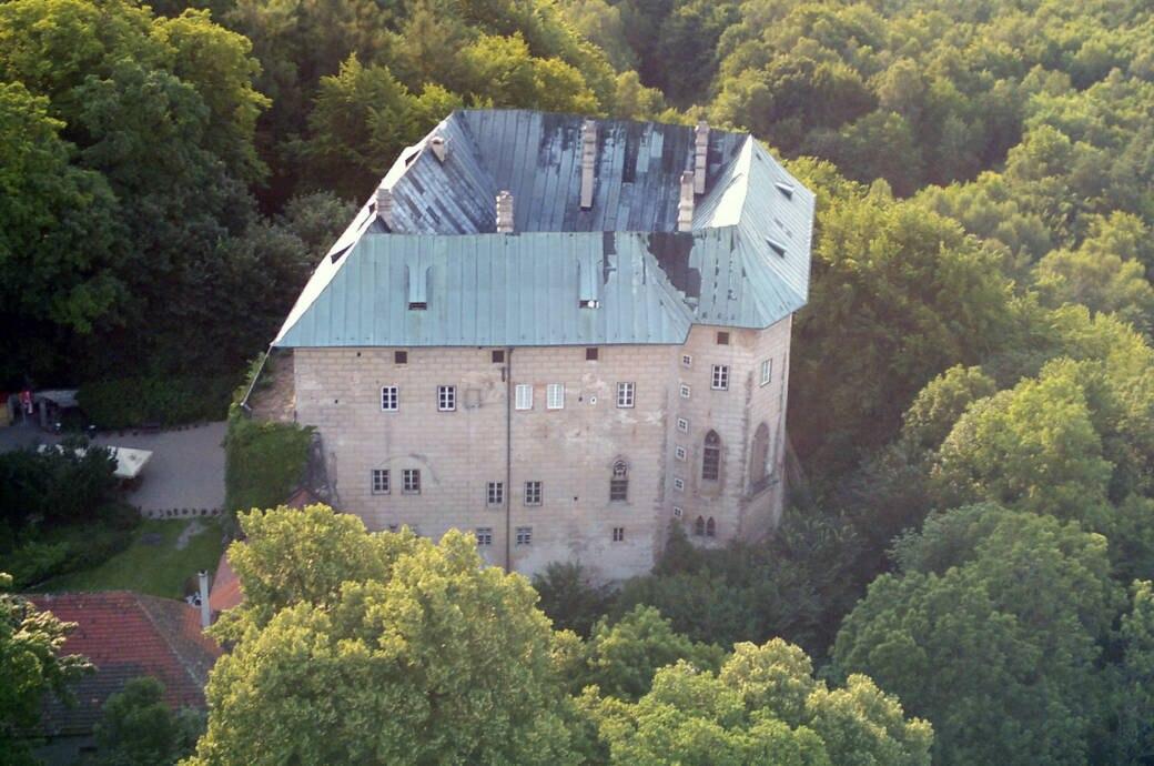 Burg Houska in Blatce, Tschechien