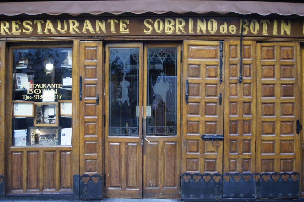 Sobrino de Botín in Madrid