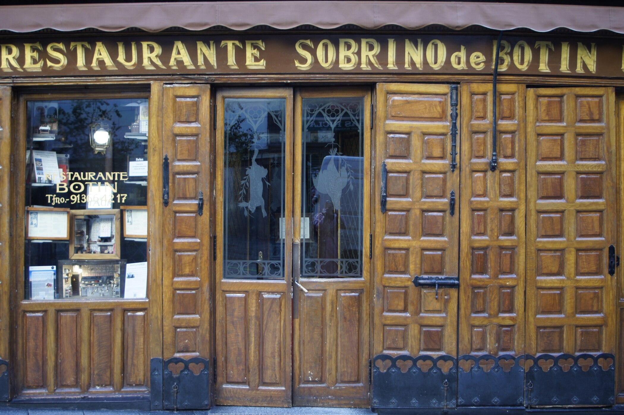 Sobrino De Bot 237 N In Madrid Das 228 Lteste Restaurant Der