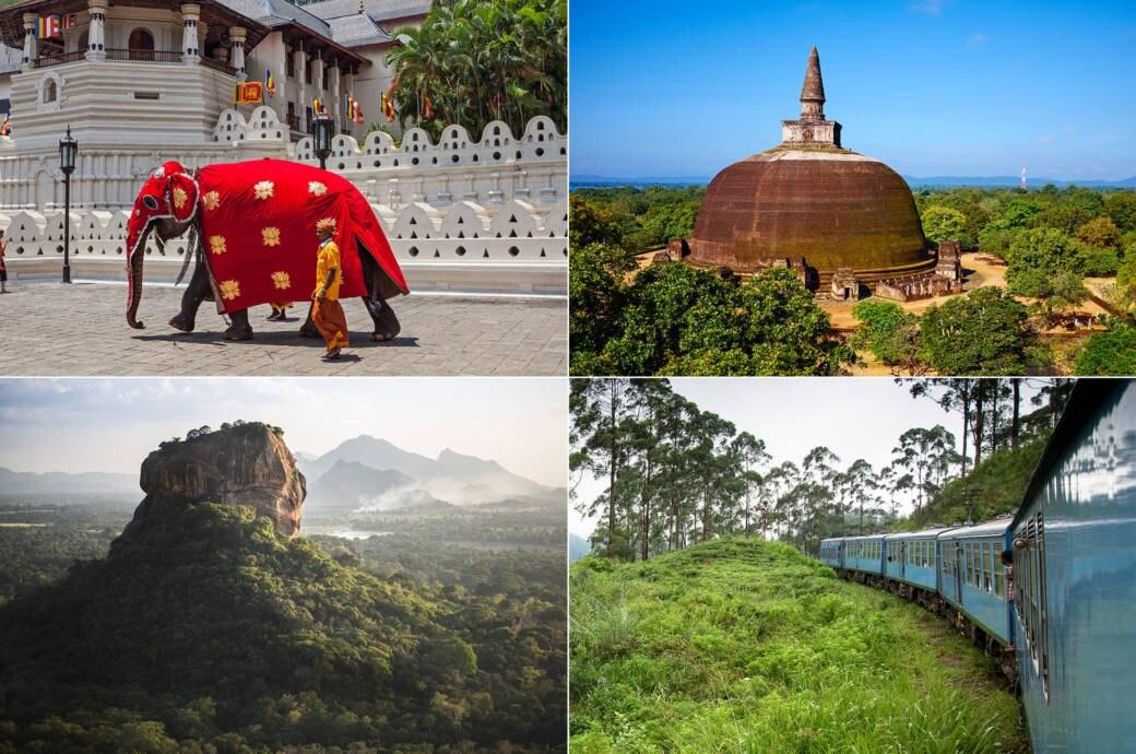 Sri Lanka, Zahntempel in Kandy, die Dagobah in der alten Königsstadt Polonnaruwa