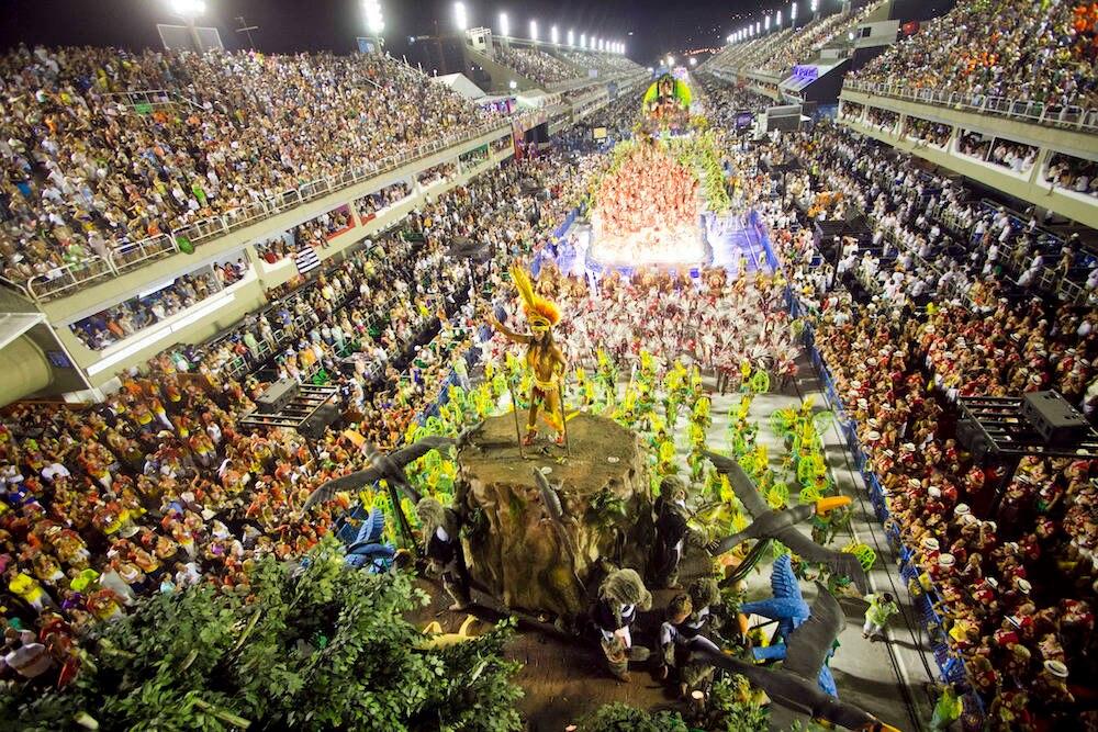 Sambodrom von Rio de Janeiro