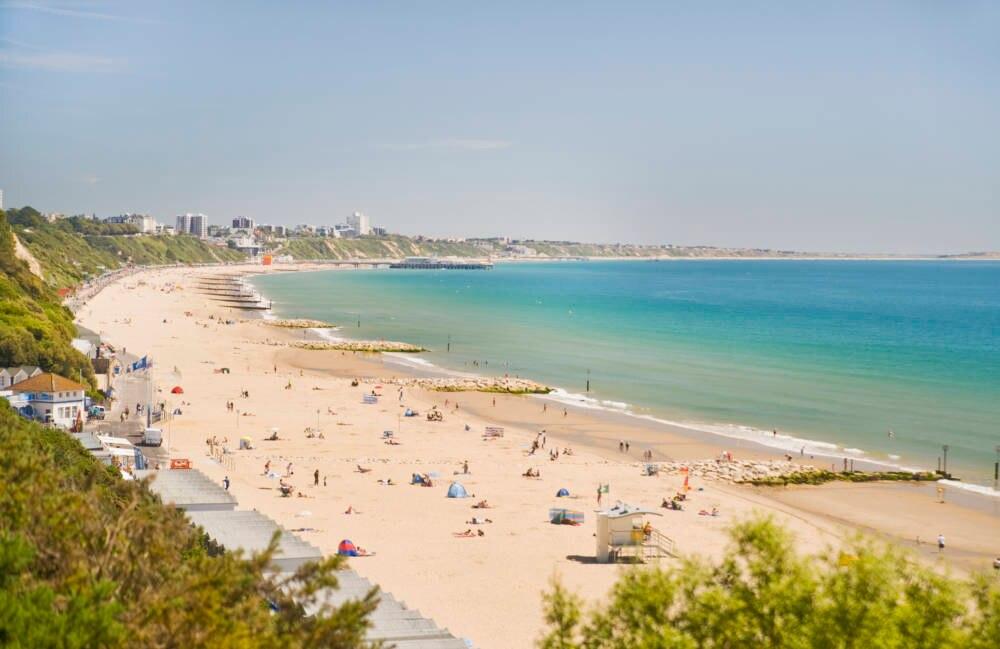 Strand von Bournemouth
