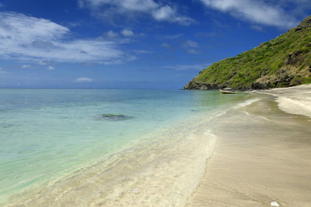 Plage de l'îlot de Mtsamboro auf Mayotte