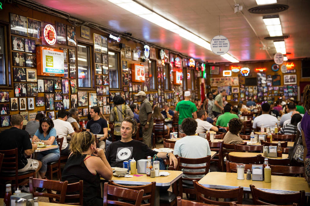 Katz's Delicatessen in New York