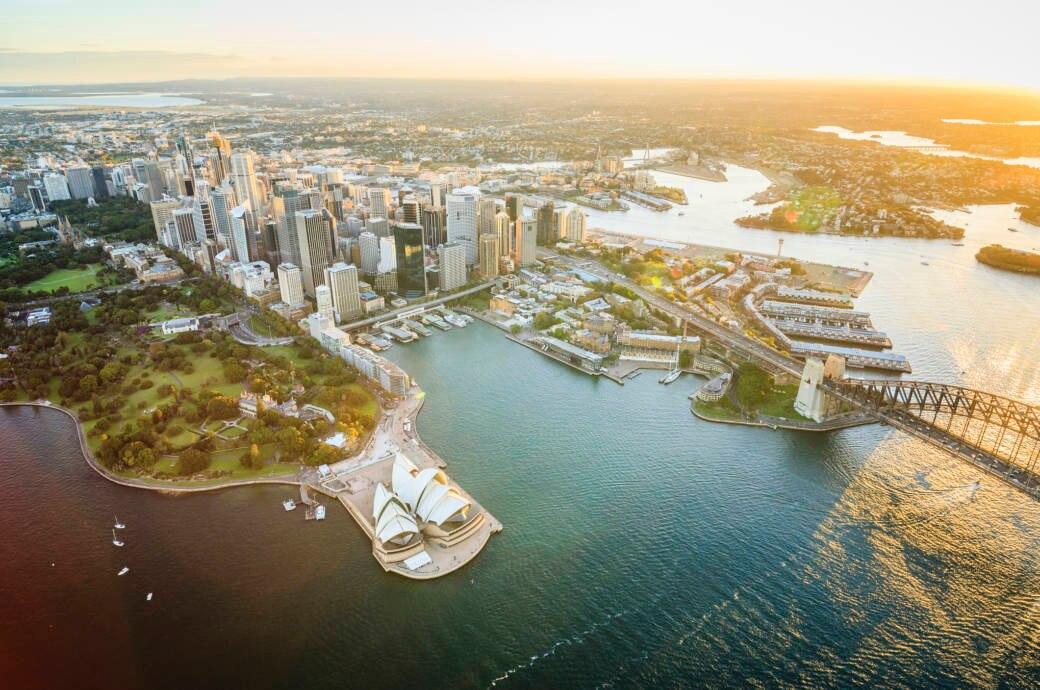 Luftaufnahme von Sydney