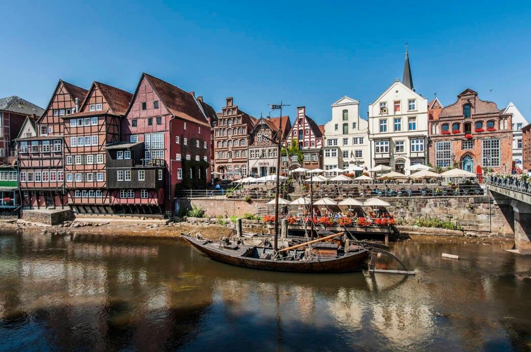 Wasserviertel in Lüneburg