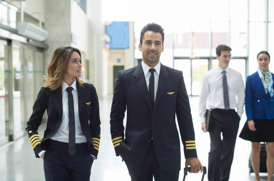 Bordpersonal, Pilot