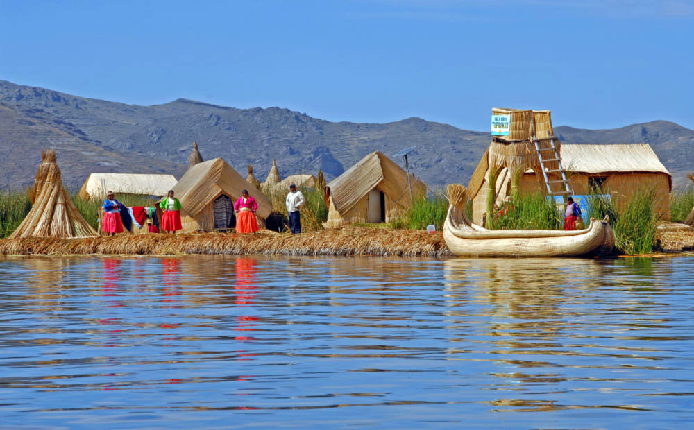 Titicacasee, Uros