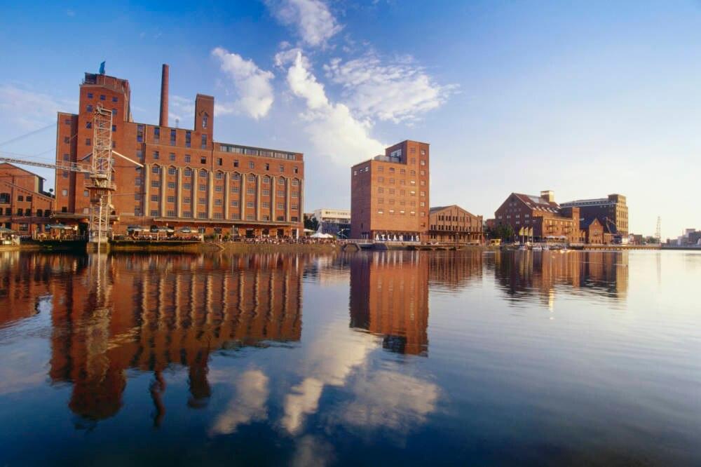 Duisburg, Hafen, Ruhrgebiet, Deutschland