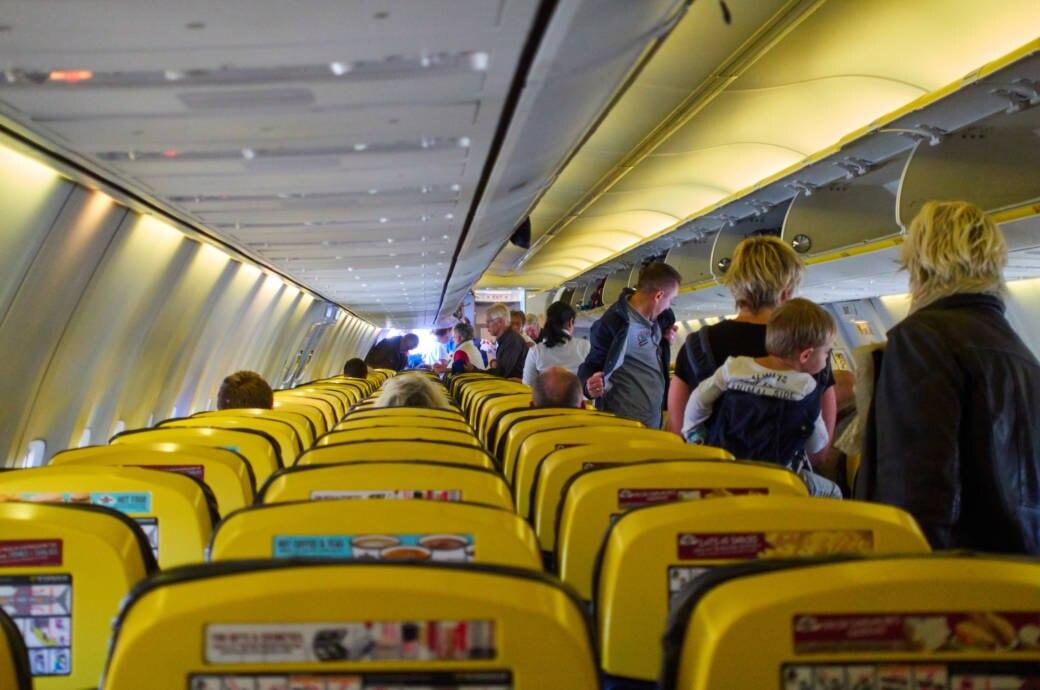 Ryanair, Kabine