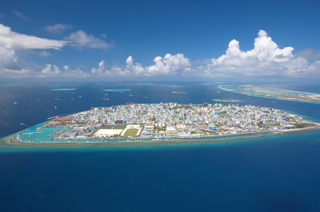 Malé aus der Luft