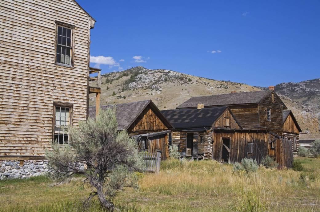Die Geisterstädte von Montana