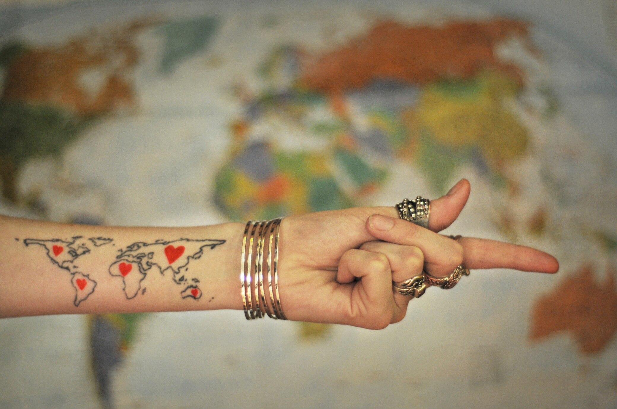 27 Coole Tattoos Die Richtig Lust Aufs Reisen Machen Travelbook