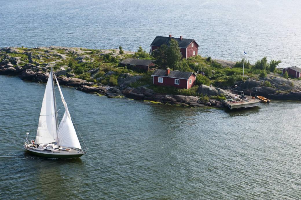 Insel in Finnland