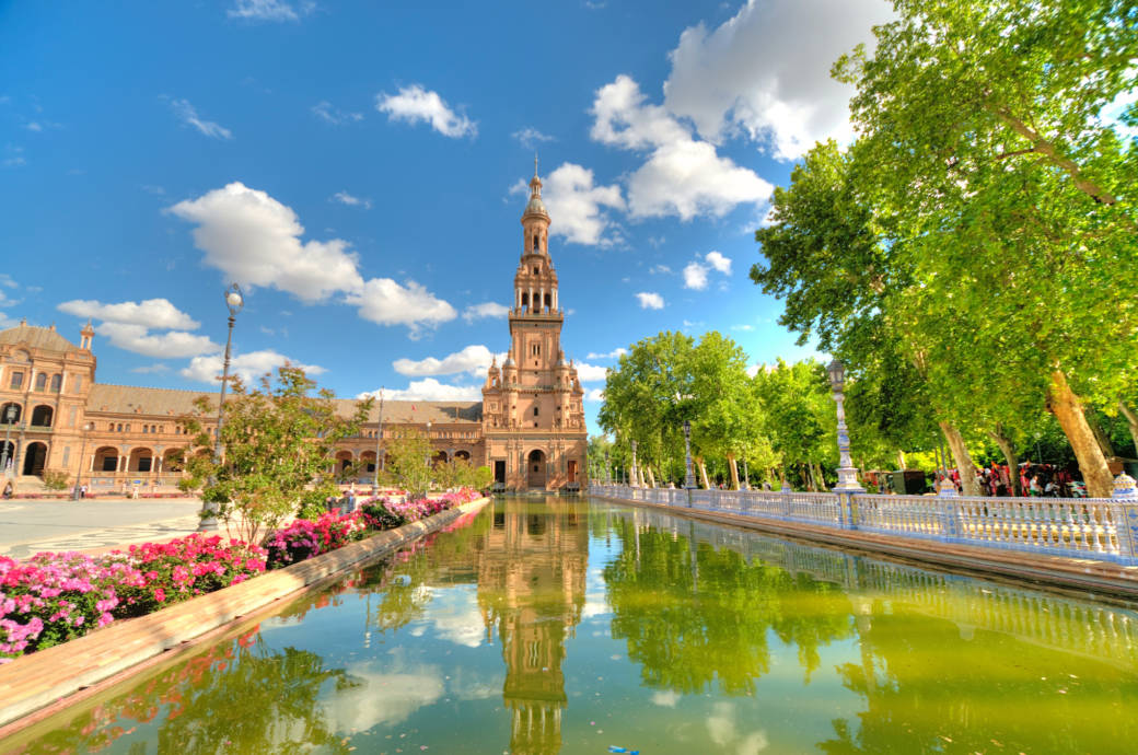 Der Plaza de España