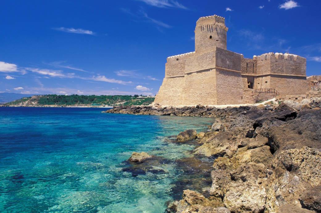 Die Festung von Le Castella
