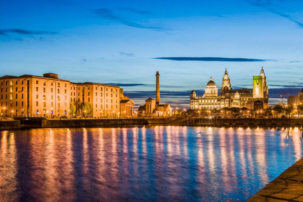 Hafen Liverpool