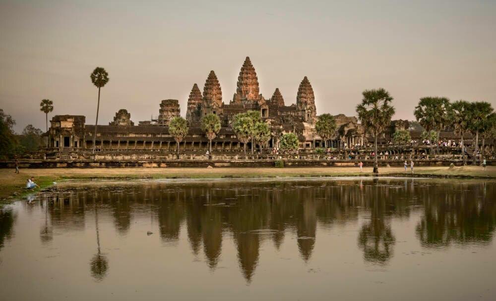 Tempelanlage Angkor Wat i
