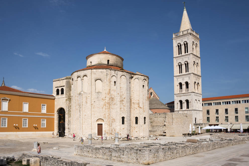 Die Kirche Sv. Donat in Zadar