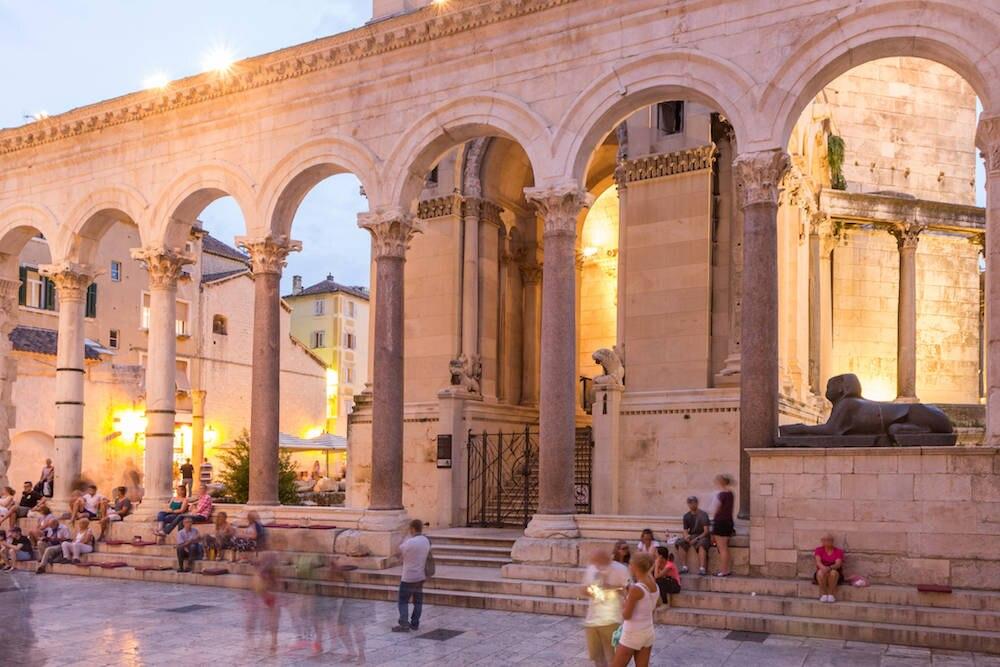 Diokletianpalast in Split