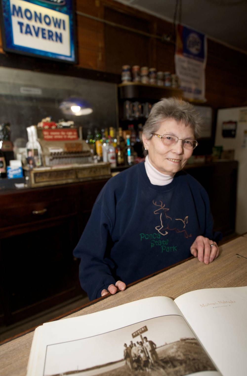 Elsie Eiler in Monowi