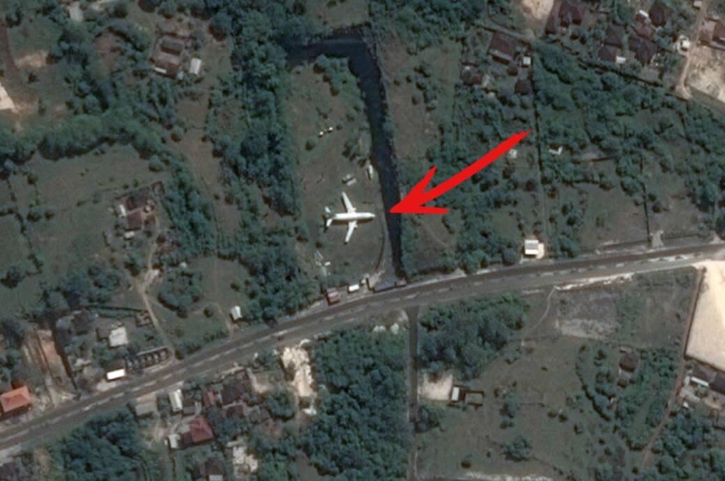 Google Maps verlassene Boieng