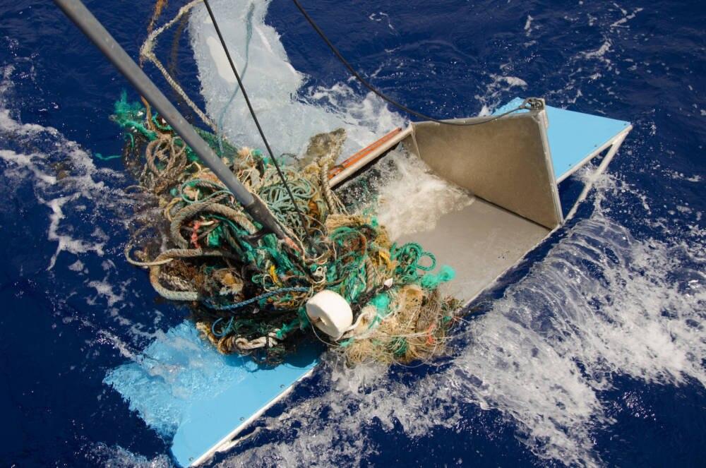 Müll aus dem Pazifikstrudel