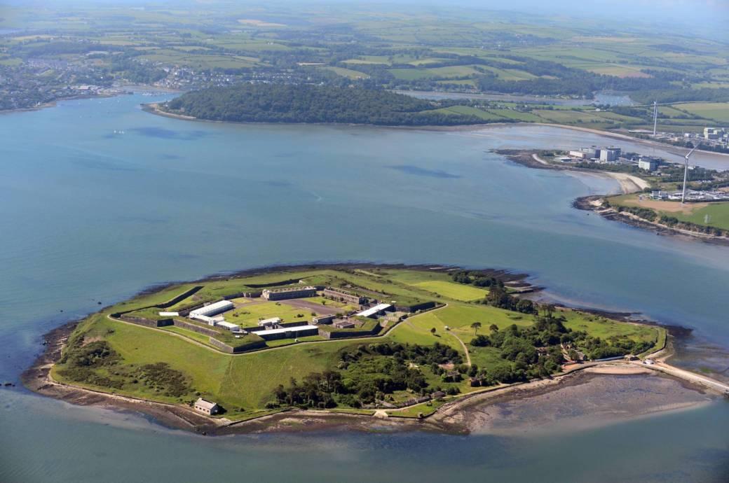 Spike Island in Irland