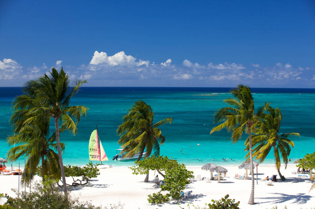 Guardalavaca Strand auf Kuba