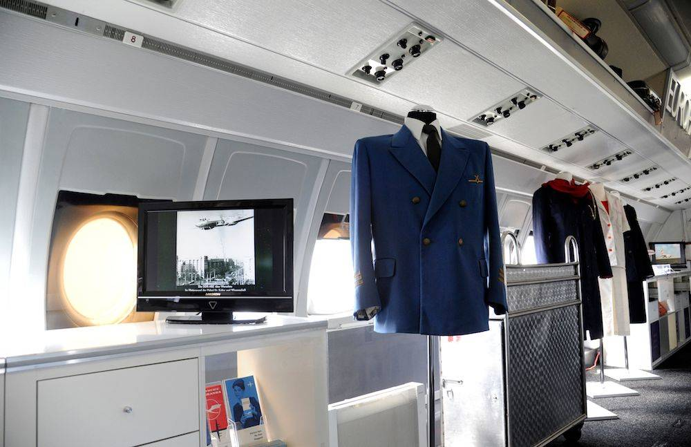 """Interflug""-Ausstellung an Bord der ""Lady Agnes"""