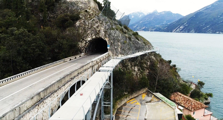 Am Gardasee entsteht der wohl spektakulärste Radweg Europas