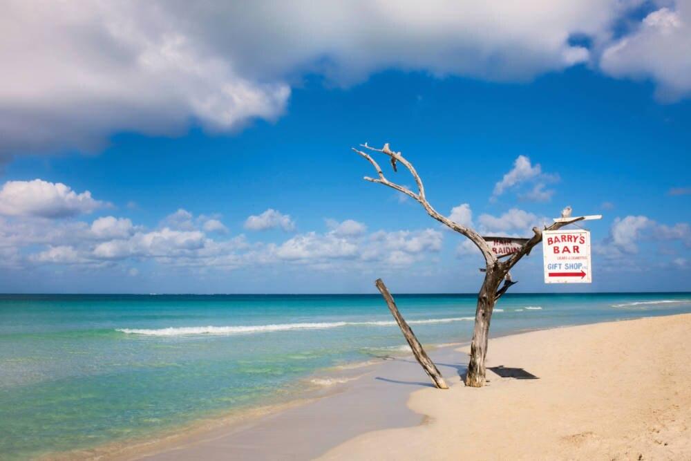 Der Seven Mile Beach in Negril auf Jamaika