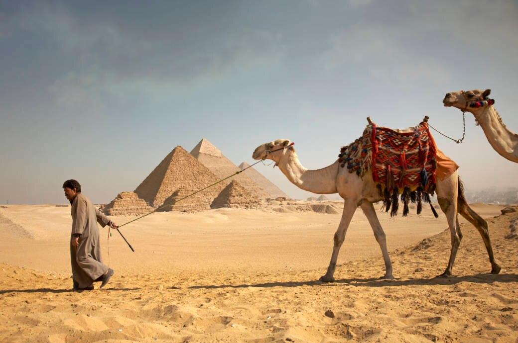 Pyramiden, Ägypten, Gizeh