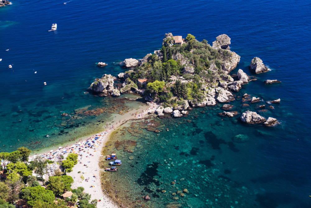 Isola Bella, Sizilien