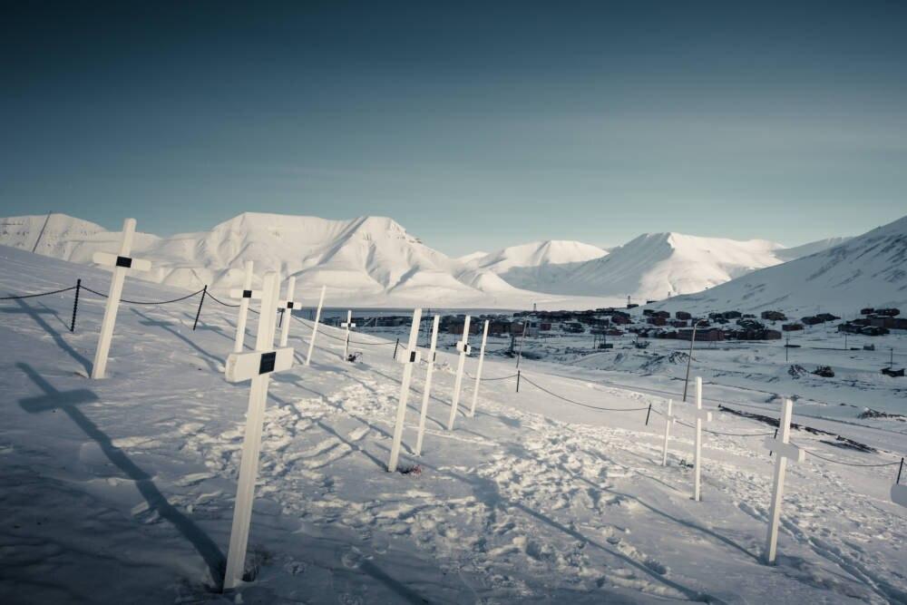 Der Friedhof von Longyearbyen
