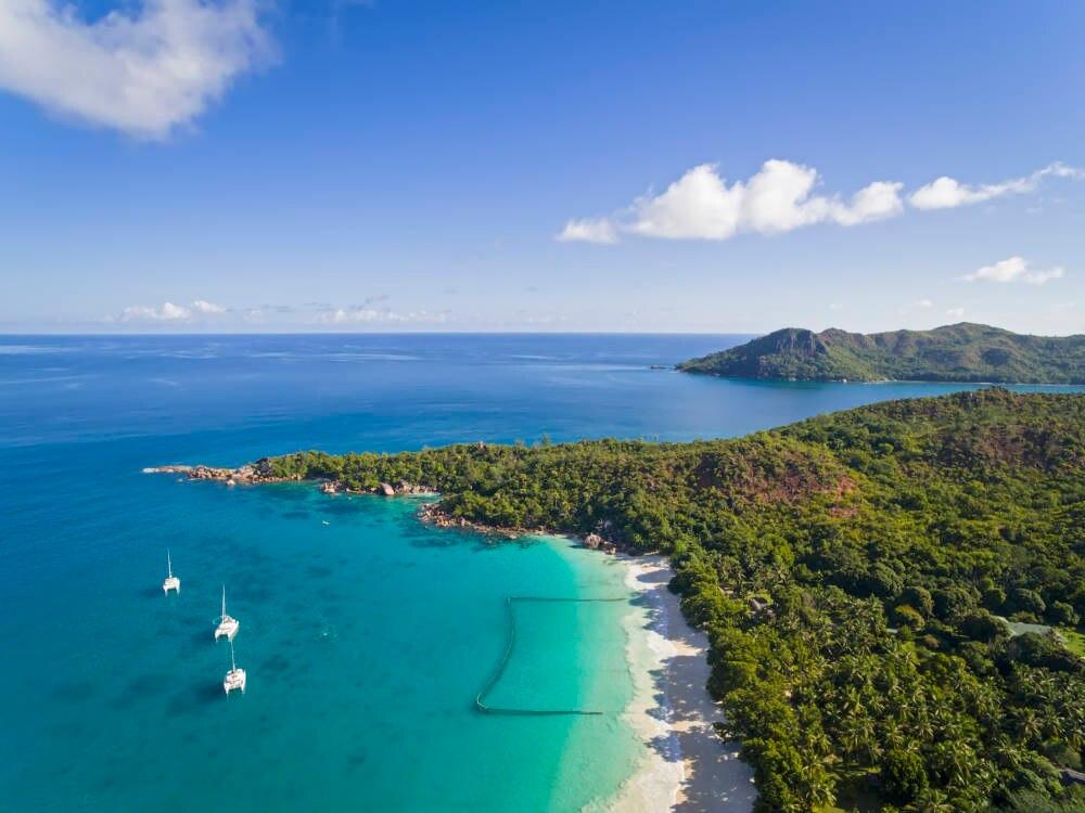 Anse Lazio auf den Seychellen