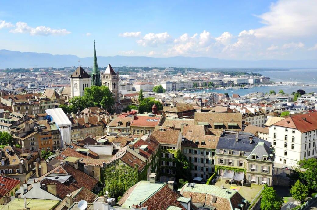 Genfer Stadtansicht
